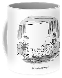 He's Not A Biter Coffee Mug