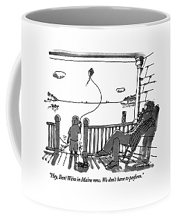 Flying A Kite Coffee Mugs