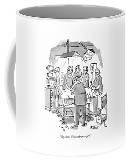 Hey, C'mon.  This Isn't Brain Surgery Coffee Mug
