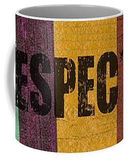 Hey Man Respect The Beach Coffee Mug