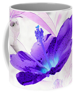 Hibiscus - After The Rain - Photopower 754 Coffee Mug by Pamela Critchlow