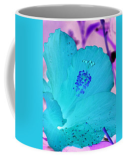 Hibiscus - After The Rain - Photopower 760 Coffee Mug by Pamela Critchlow