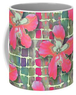 Hibiscus Pink Water Coffee Mug
