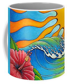 Hibiscus Wave Coffee Mug