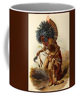 Hidatsa Warrior Coffee Mug