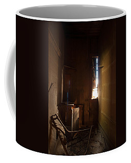 Coffee Mug featuring the photograph Hidden In Shadow by Fran Riley