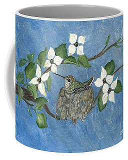 Coffee Mug featuring the painting Hidden Jewel by Ella Kaye Dickey