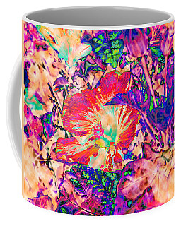Hiding Hibiscus Coffee Mug
