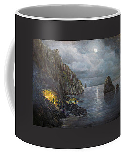 Hiding Treasure Coffee Mug by Donna Tucker