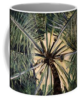 High - Palm Tree Coffee Mug