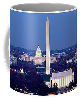 High Angle View Of A City, Washington Coffee Mug