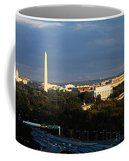 High Angle View Of A Monument Coffee Mug