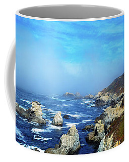 High Angle View Of Rock Formations Coffee Mug