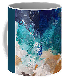 High As A Mountain- Contemporary Abstract Painting Coffee Mug