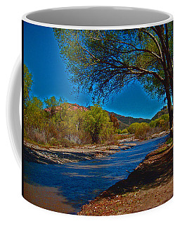 High Desert River Bed Coffee Mug
