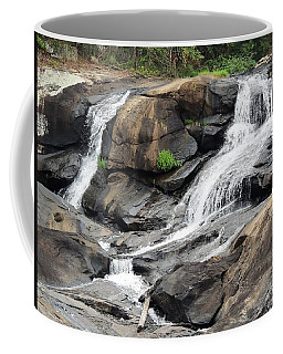 Coffee Mug featuring the photograph High Falls by Aaron Martens
