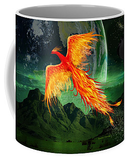 High Flying Phoenix Coffee Mug