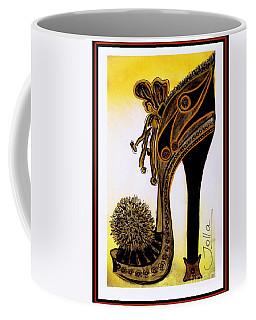 High Heel Heaven Coffee Mug by Jolanta Anna Karolska