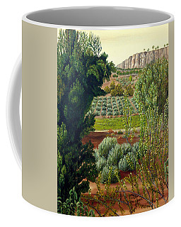 High Mountain Olive Trees  Coffee Mug