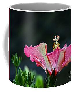 High Speed Hibiscus Flower Coffee Mug
