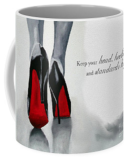 High Standards Coffee Mug by Rebecca Jenkins
