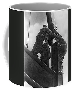 High Steel Workers In Ny Coffee Mug