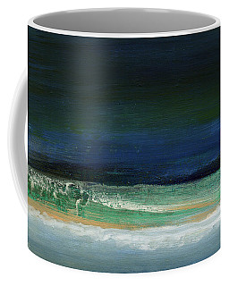High Tide- Abstract Beachscape Painting Coffee Mug