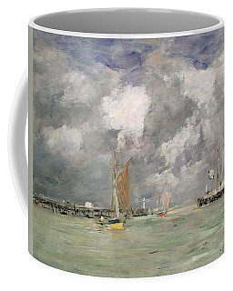 High Tide At Trouville Coffee Mug