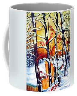 Highland Creek Sunset 2  Coffee Mug