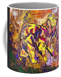 Coffee Mug featuring the painting Highland's North Carolina Bear by Janice Rae Pariza