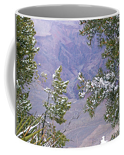 Coffee Mug featuring the photograph Highlighting Snow by Roberta Byram