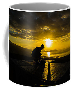 Hiker @ Diamondhead Coffee Mug