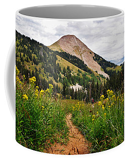 Hiking In La Sal Coffee Mug