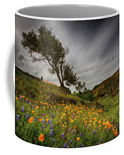 Hiking On Table Mountain Coffee Mug