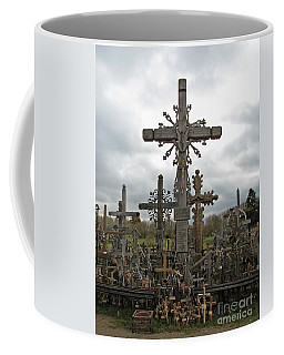 Hill Of Crosses 06. Lithuania.  Coffee Mug by Ausra Huntington nee Paulauskaite