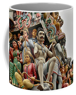 Hindu Gods And Goddesses At Temple Coffee Mug