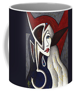 His Absence And Pain's Piercing Presence Coffee Mug