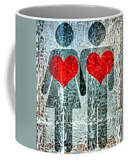 His And Hers Strength Of Heart Coffee Mug