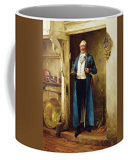 His Favourite Bin; And Testing Coffee Mug