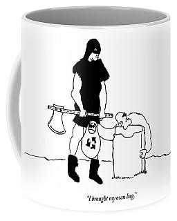 His Head On The Chopping Block Coffee Mug