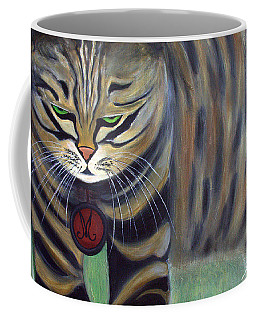His Lordship Monty Coffee Mug by Jolanta Anna Karolska