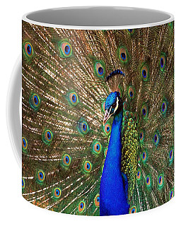 Coffee Mug featuring the photograph His Majesty by Geraldine DeBoer