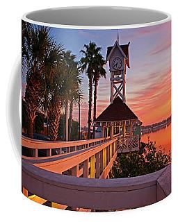 Historic Bridge Street Pier Sunrise Coffee Mug