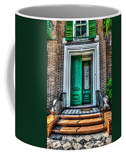 Historic Charleston Sc Door Coffee Mug