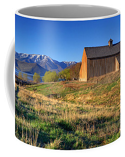 Historic Francis Tate Barn - Wasatch Mountains Coffee Mug