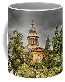 Coffee Mug featuring the photograph Historic Placer County Courthouse by Jim Thompson
