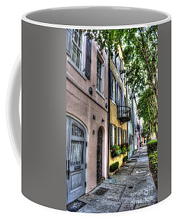 Historic Rainbow Row Coffee Mug
