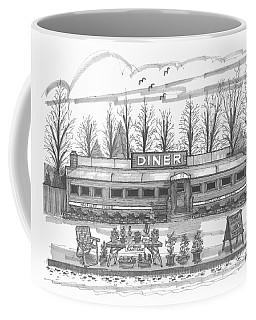 Historic Village Diner Coffee Mug