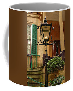Historical Gas Light Coffee Mug by Patrick Shupert