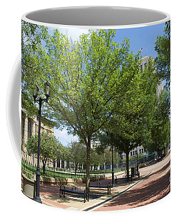 Lincoln Square Springfield Il - Luther Fine Art Coffee Mug